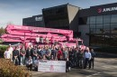 Newington's Modern Concrete Adds Pink Truck To Fleet, Commits To Help Fight Breast Cancer