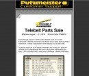 Putzmeister Customer Support Offers Monthly Specials.